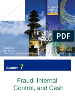 Chapter 07 -Fraud, Internal Control, And Cash