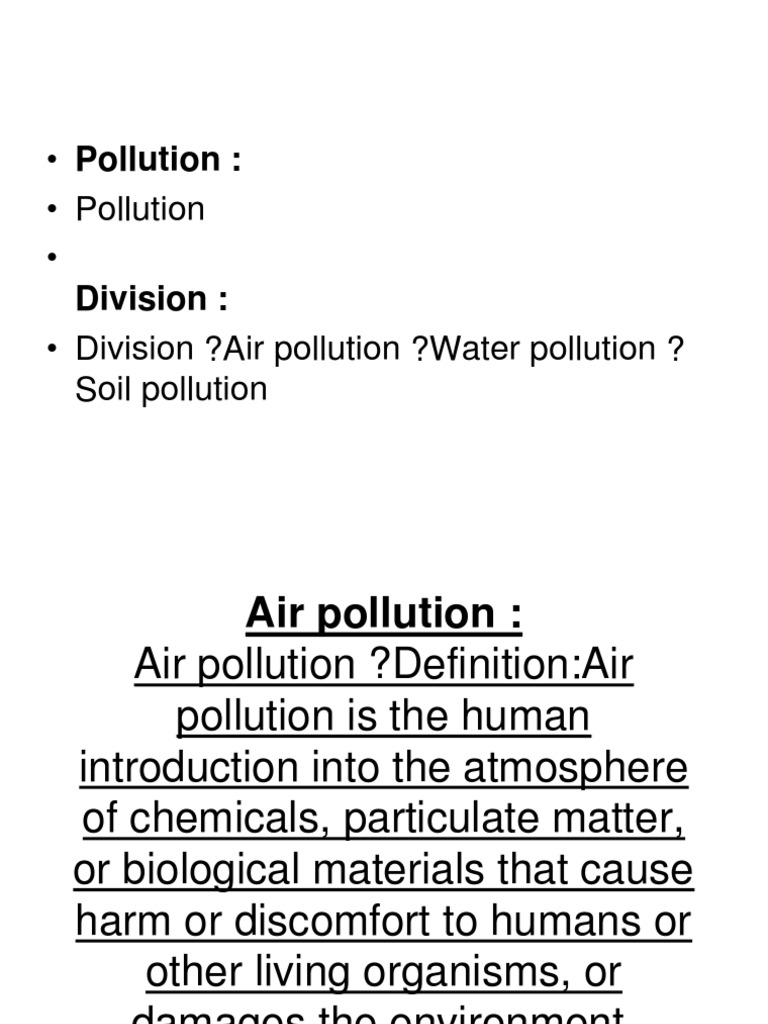 air pollution | water pollution | atmosphere of earth