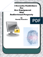Physical Security Guidelines for Office Equipment and Audiovisual Property