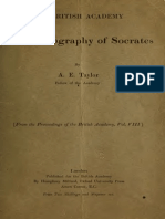 Plato's Biography of Socrates - Taylor (1917)