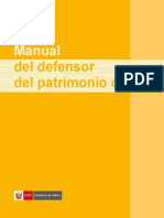 Manual del Defensor del Patrimonio Cultural