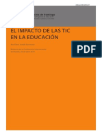 El Impacto de Las Tic en La Educacion