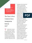immigration reform persuasive essay