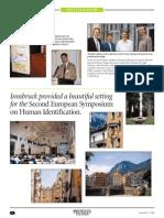 Second European Symposium on Human Identification (PROMEGA Corporation), Innsbruck, Mi.-frei., 10.-12.06.1998_Report