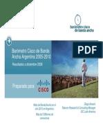 Barómetro Cisco de Banda