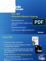 SEC309_Advanced Malware Cleaning