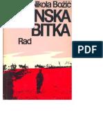 Batinska Bitka-Nikola Bozic