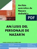 Análisis Semántico de Nazarín
