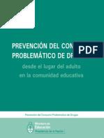 Toxicomania-prevencion Uso Problematico-comunidad Educcuadernillo
