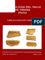 Arqueologia Del Valle Timana
