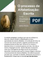 Processo de Alfabetizac3a7c3a3o a Escrita