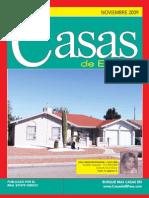 Casas de El Paso y Las Cruces Noviembre 2009