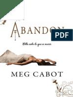 Abandon Meg Cabot