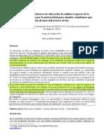 7 Salazar, P - Opinion de Los Profesores de Educación de Adultos Respecto a La Formación Entregada...