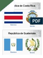 Escudos y Banderas de Centroamerica