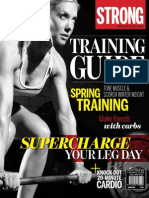 STRONG Fitness Magazine Training Guide - Spring 2014 USA - FiLELiST