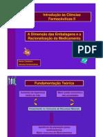 Dimensão das Embalagens de Medicamentos