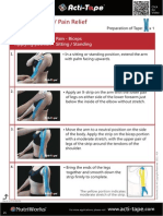 Acti-Tape Step by Step Instructions 14E