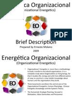 Energética Organizacional (Organizational Energetics) - A Brief Description