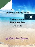 eBook Os Principios Do Reiki 5 Maneiras de Melhorar Seu Dia a Dia