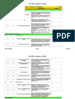 ISO 27001 Complinace Checklist1