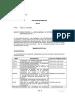 CIRCULAR No. 400.012 -  2014 modif de la 400.010 Abril 2 2014