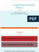 Unit Perawatan Pasca Anestesi
