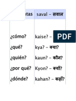 My Basic Grammar of Hindi