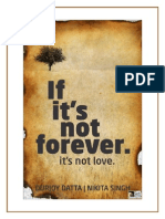 IfItsNotForever!ItsNotLove (Only a 12 Page Sample)