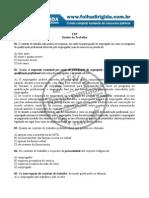 10qts Direito Do Trabalho - TRT- 16.12.11