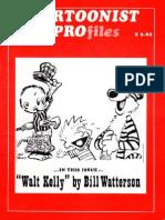 Walt Kelly Bill Watterson Cartoonist Profile