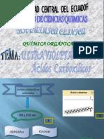 Ultravioleta Visible-Acidos Carboxílicos