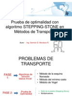 Algoritmo STEPPING STONE Final