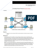Hsrp Instructor Lab Manual