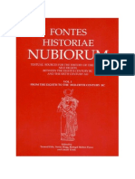 Fontes Historiae Nubiorum Volume I