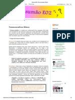 Resumão E02_ Farmacocinética Básica