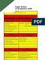 CONTONTENIDOS PRUEBAS DE SÍNTESIS 1ro  Medio - 2009