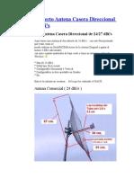 Antena 27 Dbi