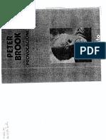 Provocaciones - Peter Brook