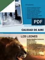 Diapositivas - Calidad de Aire