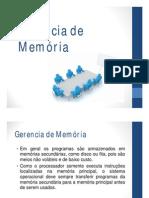 Aula - 05 - Gerência de Memória