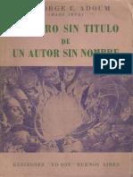 El Libro Sin Titulo de Autor Sin Nombre