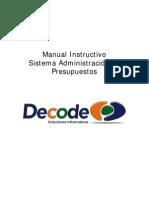 Manual Instructivo Software Gestion