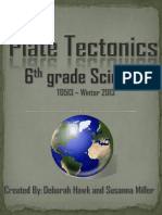plate tectonics unit final