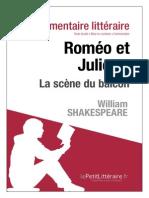 Roméo Et Juliette (La Scène Du Balcon)