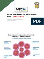 3 Plan Nacional de Seguridad Vial 2007-2011
