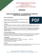 Ayuntamiento - Bases Concurso Del Cartel Fiestas de Verano 2014