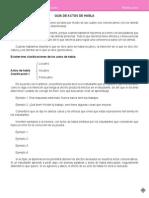 Guía Actos de Habla