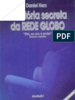 A Historia Secreta Da Rede Glob - Daniel Herz-Copiar