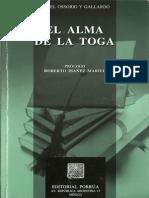 El Alma de La Toga - Angel Ossorio